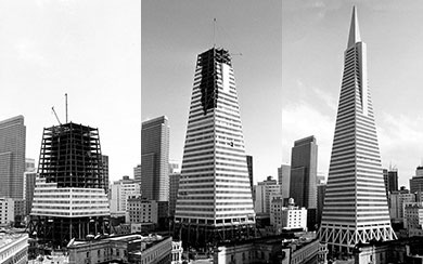 Historical Image of the Transamerica Pyramid-What we do